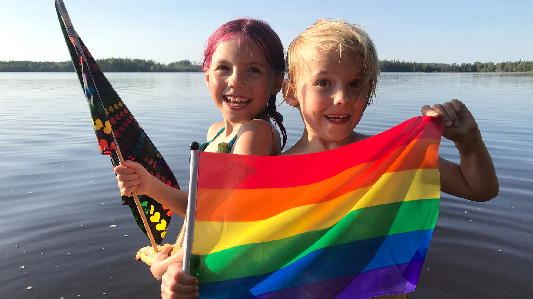 Ep3 - Olga och Bamse ordnar ett eget pridetåg